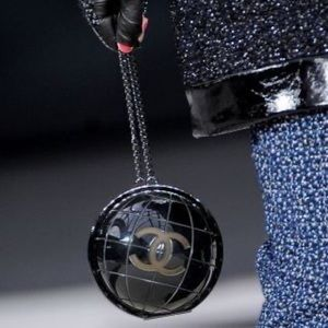 Chanel Globe Bag CHANEL Runway FALL 2013